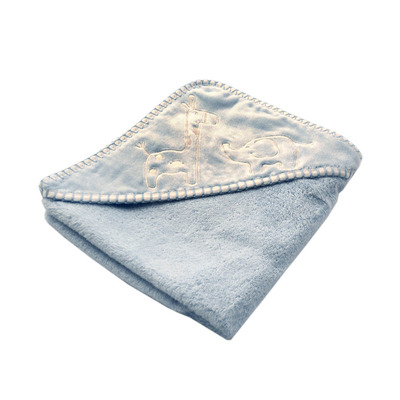Blue Safari Hooded Towel