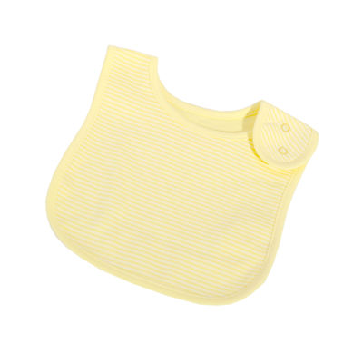 Lemon French Stripe Bib