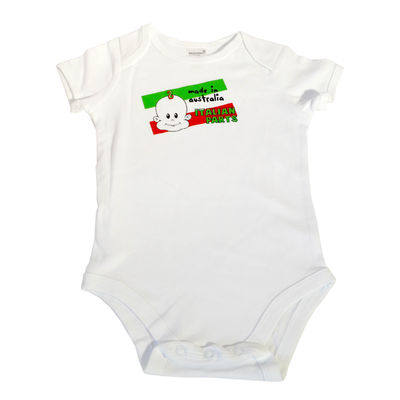 Made In Australia with Italian Parts Onesie