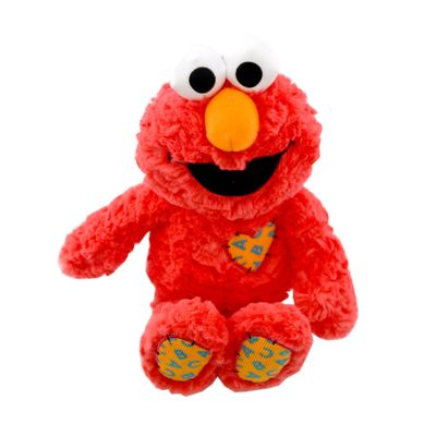 Super Soft Elmo Patch Plush 25cm
