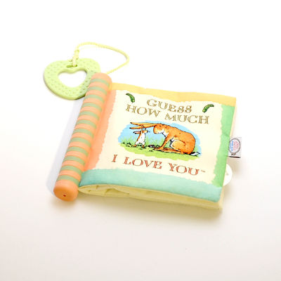 """Guess How Much I Love You"" Soft Book with sound"