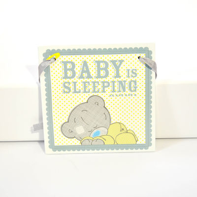 Tiny Tatty Teddy Wall Plaque
