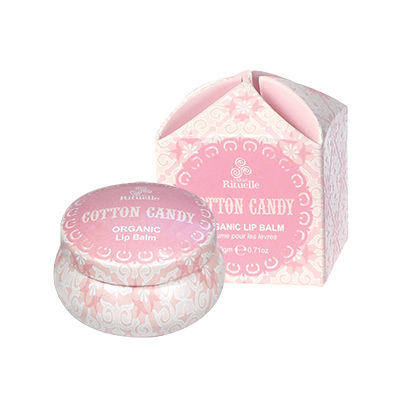 Sweet Treats Organic LipBalm Cotton Candy