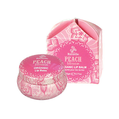 Sweet Treats Organic LipBalm Peach