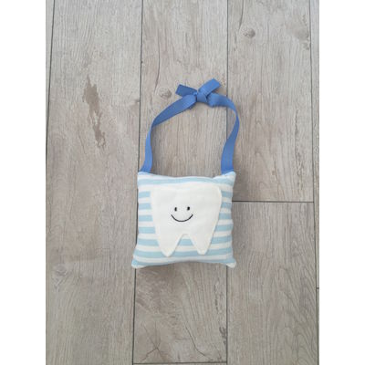 Tooth Fairy Hanger Pillow (Blue)