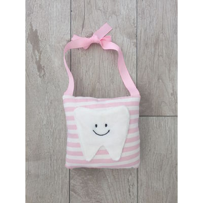 Tooth Fairy Hanger Pillow (Pink)