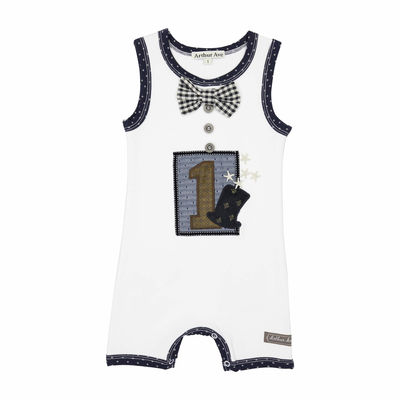 First Birthday Baby Boy Onesie