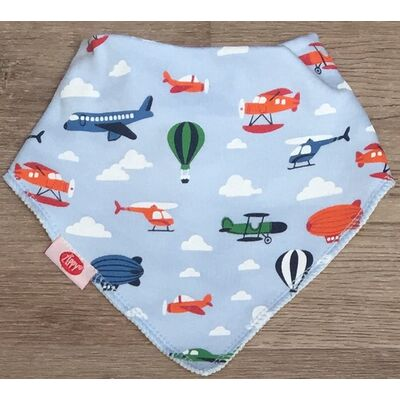 Zippy Bibs Single-Airplanes