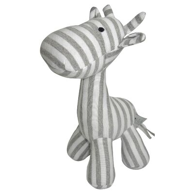 Stripe Giraffe Small - Grey