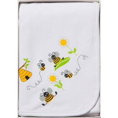 White Bumble Bee Wrap