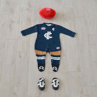 AFL Carlton FC - Barracking for the Blues!