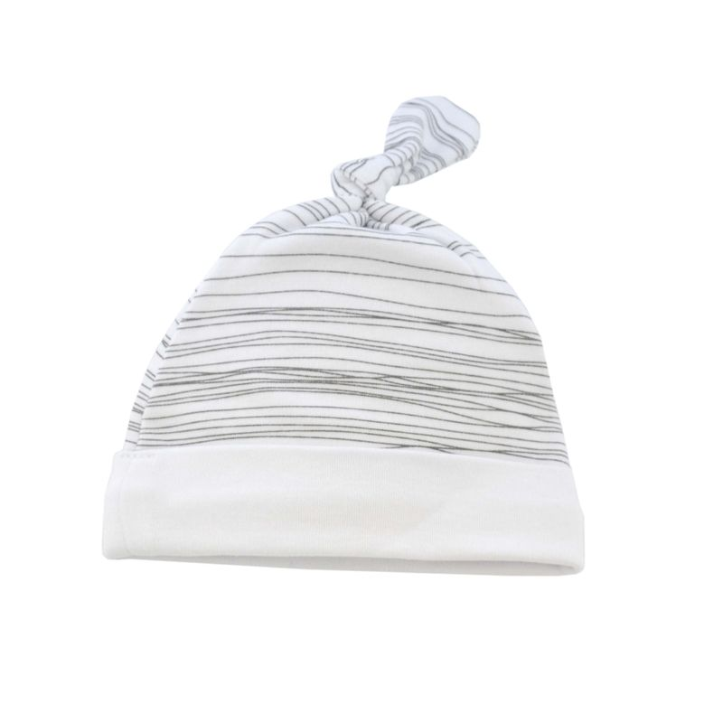 Grey Scribble Hat