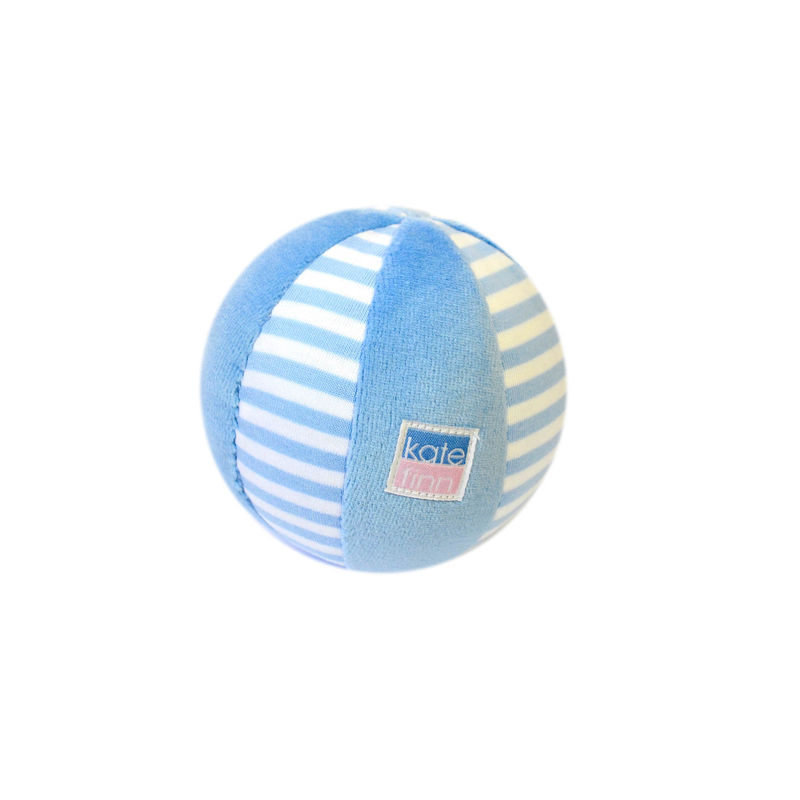 Blue Velvet Stripe Ball