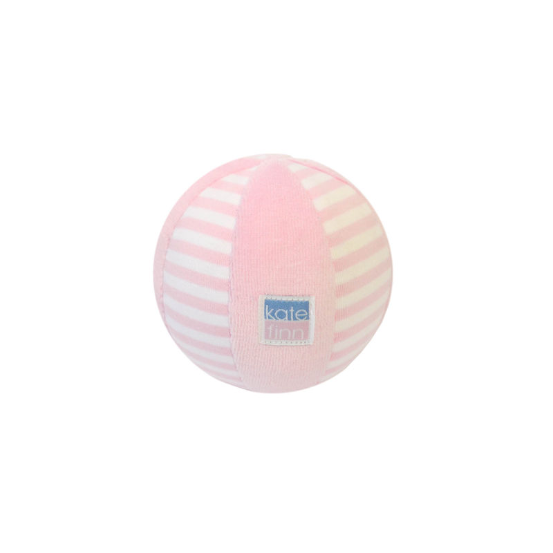 Pink Velvet Stripe Ball