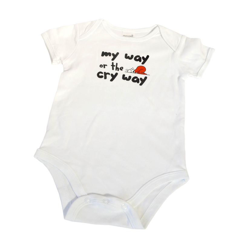 My Way Or The Cryway Onesie