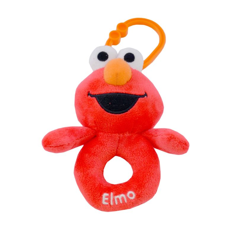 Super Soft Elmo Ring Rattle