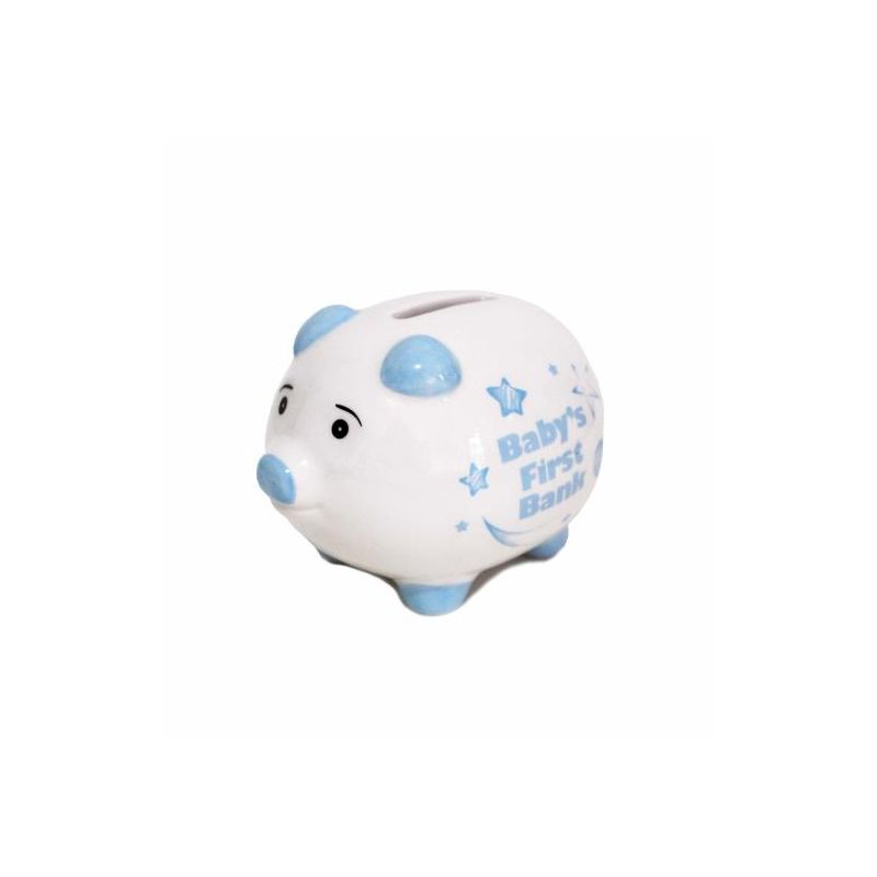 Baby 1st Piggy Bank Blue
