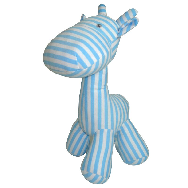 Stripe Giraffe Small - Blue