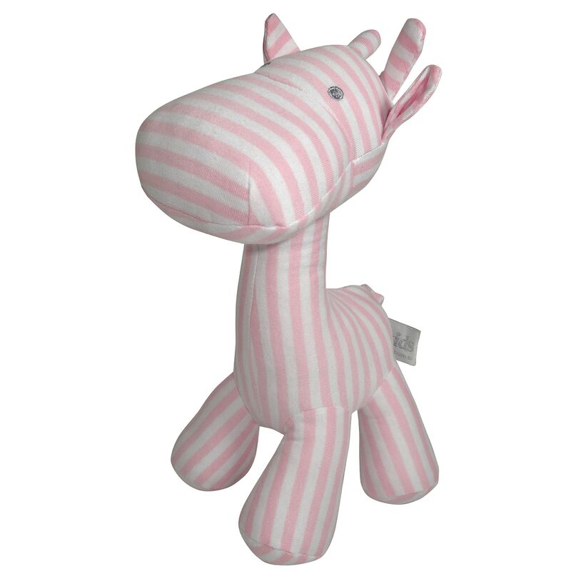 Stripe Giraffe Small - Pink
