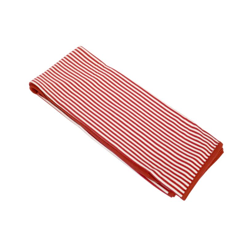 Red French Stripe Wrap