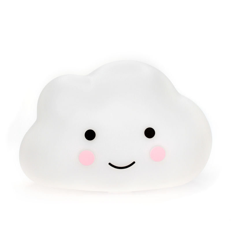 Night Light Cloud - White